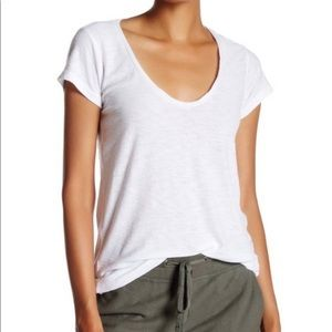 NWT James Perse scoop neck Tee shirt size 4/XL